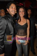 Shreyas Talpade, Celina Jailtley at the premiere of Sanai Chaughde in PVR on 20th June 2008(5).JPG