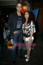 Rohit Roy, Manasi Joshi at 9X Jalwa Bash at The Club on June 21st 2008 (3).JPG