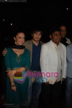 Ayaan Ahmad, Nauheed Cyrusi, A R Rahman at Ada music launch in PVR on June 25th 2008(4).JPG