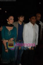 Ayaan Ahmad, Nauheed Cyrusi, A R Rahman at Ada music launch in PVR on June 25th 2008(5).JPG