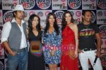 Rannvijay,Anusha Dandekar, Nikhil Chinappa with Sophie Chaudhary at MTV License to Flirt launch at Taj Hotel on June 25th 2008(10).JPG