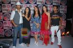 Rannvijay,Anusha Dandekar, Nikhil Chinappa with Sophie Chaudhary at MTV License to Flirt launch at Taj Hotel on June 25th 2008(8).JPG