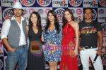 Rannvijay,Anusha Dandekar, Nikhil Chinappa with Sophie Chaudhary at MTV License to Flirt launch at Taj Hotel on June 25th 2008(9).JPG