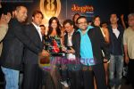 Salman Khan, Katrina Kaif, Pritam Chakraborty at the music launch of Singh is King in Enigma on June 26th 2008 (3).JPG