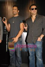 Arbaaz Khan, Upen Patel at the launch of Porsche first mobile phone in Kemps Corner on June 27th 2008(2).JPG