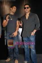 Arbaaz Khan, Upen Patel at the launch of Porsche first mobile phone in Kemps Corner on June 27th 2008(4).JPG