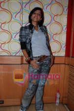 Mansi Scott at the recording of Mansi Scott_s debut album with Mika Singh at MEET Brothers recording studio on 27th June 2008 (3).JPG