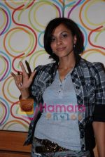 Mansi Scott at the recording of Mansi Scott_s debut album with Mika Singh at MEET Brothers recording studio on 27th June 2008 (6).JPG