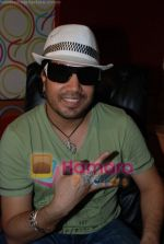 Mika Singh at the recording of Mansi Scott_s debut album with Mika Singh at MEET Brothers recording studio on 27th June 2008 (5).JPG