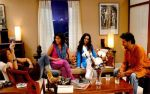Sandhya Mridul, Sonali Kulkarni, Simone Singh and Rajat Kapoor in a still from the movie Via Darjeeling.jpg