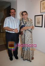 at World Renowned Artist Jogen Chowdhury_s Art Exhibition in Kala Ghoda on 27th June 2008 (23).JPG