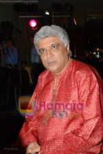 Javed Akhtar at Love Story 2050 press meet with Zapak in Fun Republic on June 30th 2008(1).JPG