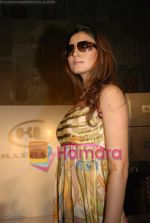 Model walks on the ramp at the launch of Killer Loop glasses in Shiro, Mumbai on July 2nd 2008(4).JPG