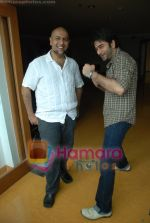 Vishal Dadlani, Shekhar Ravjiani at Bachna Ae Hasseno Music Preview at Yash Raj Studios on July 5th 2008 (9).JPG