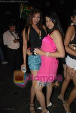 Hot sizzling babes at Faisal Khan_s bday bash for girlfriend Shikha in Black on July 7th 2008(5).JPG