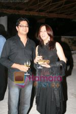 Dhruv and Ishita at Olive launch on July 8th 2008.JPG