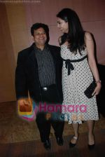 Viren Shah with Yukta Mookhey at CMAI  Apex Awards on 10th July 2008 (10).jpg