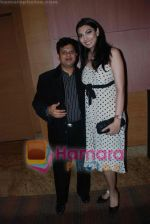 Viren Shah with Yukta Mookhey at CMAI  Apex Awards on 10th July 2008 (2).jpg