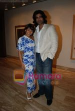 Koel Purie, Sikander Kher at the reading of The Alchemist in Tao Gallery on July 13th 2008 (3).JPG