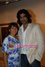 Koel Purie, Sikander Kher at the reading of The Alchemist in Tao Gallery on July 13th 2008 (5).JPG