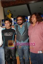 Sukhwinder Singh, Monty Sharma and Ismail Darbar at Amul Star Voice of India  press meet in Mangi Ferra on 16th July 2008(2).JPG