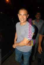 Aamir Khan at Katrina Kaif_s birthday bash in Olive on 16th July 2008(3).JPG