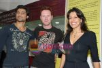 Haneef, Alex, Pooja Bedi at the opening of Star Bazaar in Lokhandwala on 17th July 2008(14).JPG