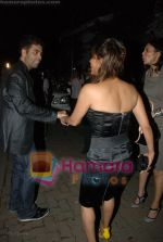 Karan Johar, Gauri Khan at Katrina Kaif_s birthday bash in Olive on 16th July 2008(2).JPG
