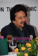 Pankaj Udhas at Khazana press meet inTrident on 17th July 2008(1).JPG