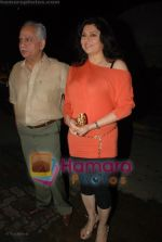 Ramesh Sippy, Kiran Juneja at Katrina Kaif_s birthday bash in Olive on 16th July 2008(2).JPG