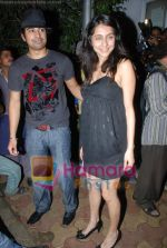 Ranvir Singh, Anusha Dandekar at Katrina Kaif_s birthday bash in Olive on 16th July 2008(2).JPG