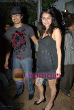 Ranvir Singh, Anusha Dandekar at Katrina Kaif_s birthday bash in Olive on 16th July 2008(27).JPG