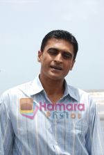 Mohnish Behl at Bachpan on location in Madh on 18th July 2008(2).jpg