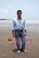 Mohnish Behl at Bachpan on location in Madh on 18th July 2008(4).jpg
