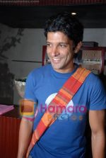 Farhan Akhtar at Rollingstone in assocation with Carlsberg event in Blue Frog on 23rd July 2008(15).JPG