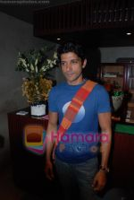 Farhan Akhtar at Rollingstone in assocation with Carlsberg event in Blue Frog on 23rd July 2008(5).JPG