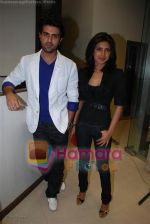 Harman Baweja and Priyanka Chopra at the studios of BIG 92.7 FM on July 23, 2008(25).JPG