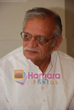 Gulzar at Selective poems book launch by Gulzar in ITC Grand Maratha on July 26th 2008(20).JPG