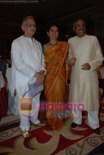 Mita Vashist, Gulzar at Selective poems book launch by Gulzar in ITC Grand Maratha on July 26th 2008(2).JPG