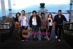 Celina Jaitley, Aftab Shivdasani, Govinda, Manoj Bajpai, Hansika Motwani, Upen Patel in Still from Money Hai Toh Honey Hai (2).jpg
