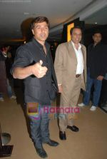 Sunny Deol, Dharmendra at Champku music launch in Sahara Star on July 29th 2008 -san(3).JPG