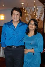 Arun Gohil with daughter at Anup Jalota_s Birthday Bash in Sunville,Worli on July 29th 2008 (2).JPG