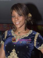 Alicia Banton at the Audio Release of _Ghoonghat Mix_ in Cinemax on August 7th 2008 (21).JPG