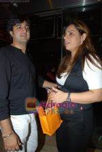 Siddharth anand with wife at the Bachna Ae Haseeno special screening in Cinemax on 14th August 2008 (2).JPG