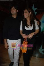 siddharth anand with wife at the Bachna Ae Haseeno special screening in Cinemax on 14th August 2008.JPG