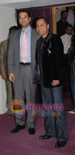 sunny diwan with vipul shah at the 11th Annual Rajiv Gandhi Awards 2008 on 17th August 2008.JPG