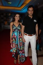 Amisha Patel and Kanav Puri at Airtel Salaam-E-Comedy Awards in NDTV Imagine on 20th August 2008.JPG