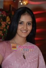 Arunima Sharma on the sets of Tv serial Kasam Se in Klicj Nixon on August 22nd 2008 (6).JPG
