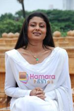 Tasneem Sheikh on the sets of Mahabratha on the occasion of Janmashtami in Film City on August 24th 2008 (4).JPG