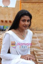 Tasneem Sheikh on the sets of Mahabratha on the occasion of Janmashtami in Film City on August 24th 2008 (5).JPG